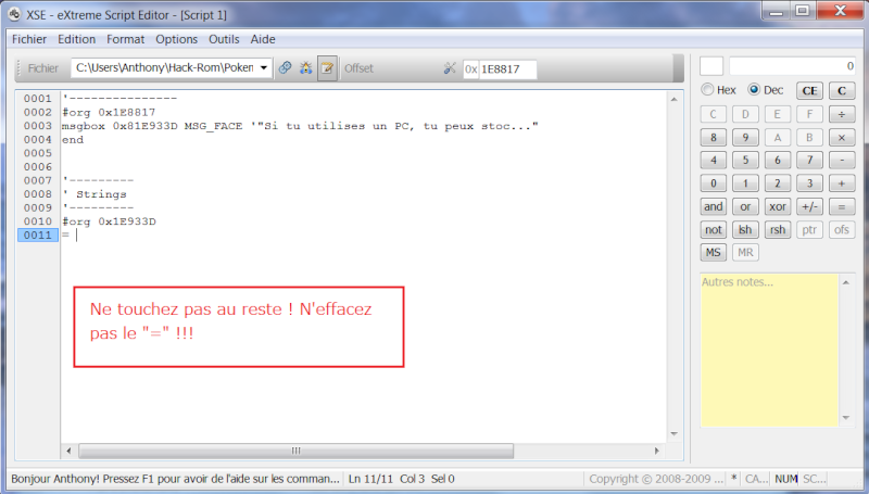 Tuto : Initiation au Rom-Hacking Erase10