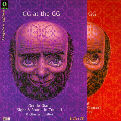 Gentle Giant GG At The GG : DVD + CD Cover_10