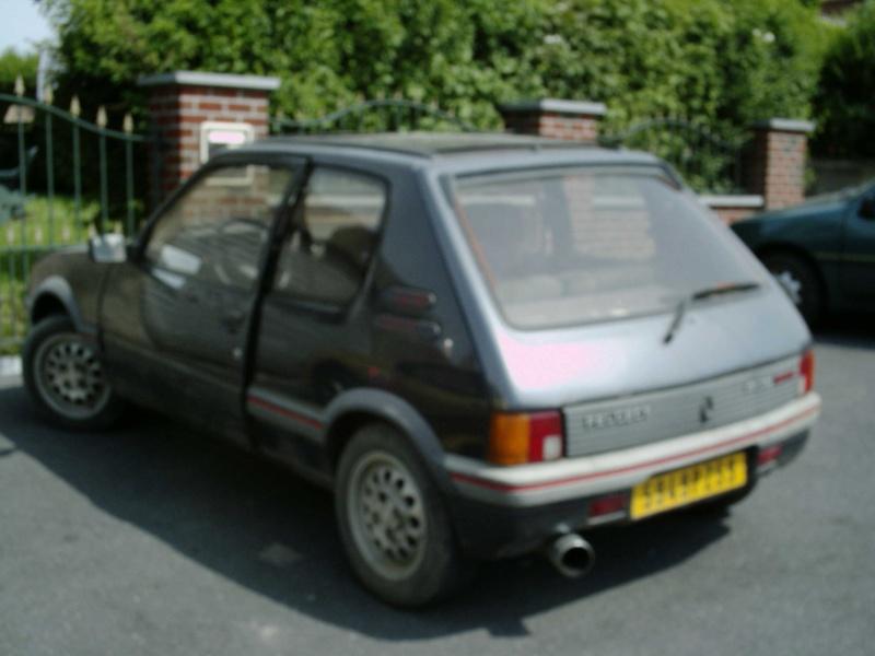 [Gtiste59] 205 GTI 1.6L Vert Sorrento 1986 Ma_20517