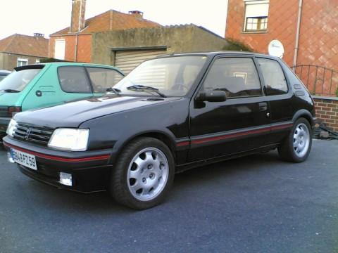 [Gtiste59] 205 GTI 1.6L Vert Sorrento 1986 Of504813