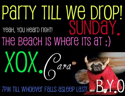 Party Time! All Invited (; Poochy10