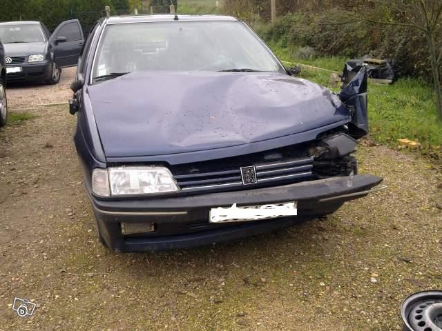 Peugeot 405 accidentées et abandonnées - Page 6 Carton11