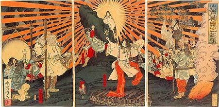 Mitología japonesa 2: Amaterasu y el origen divino del Emperador 02_ama10