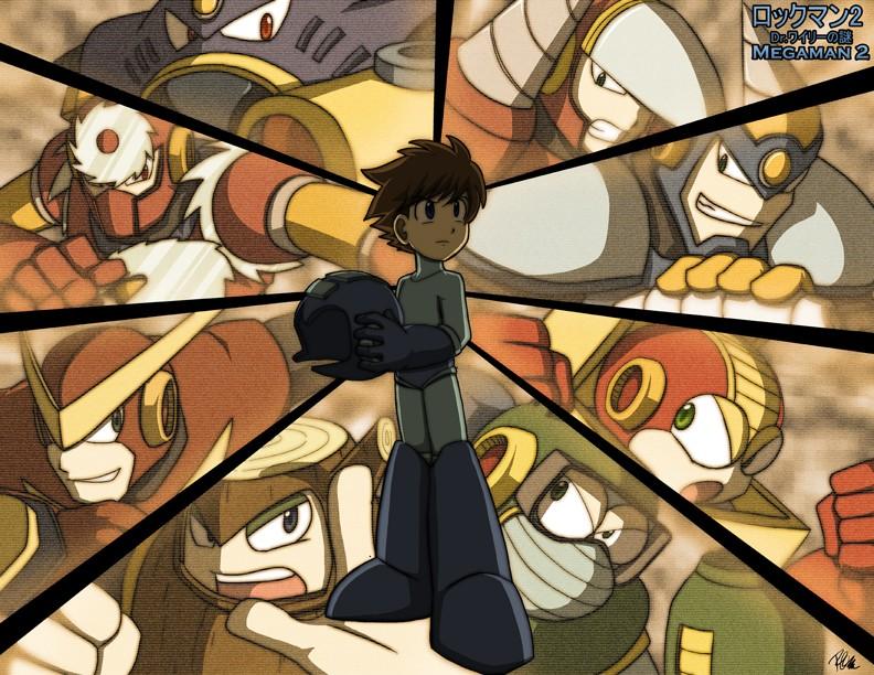 Mega Man (ロックマン, Rokkuman) Megama10
