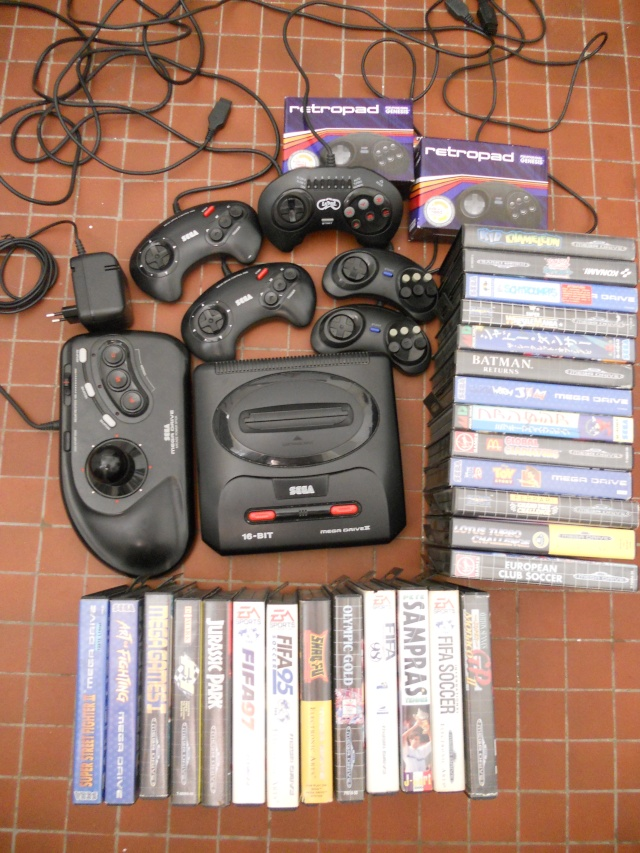(VDS) Lot Mega Drive  Dscn0811