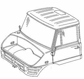 Unimog 421.141 de Manu Haute Savoie Cabine10