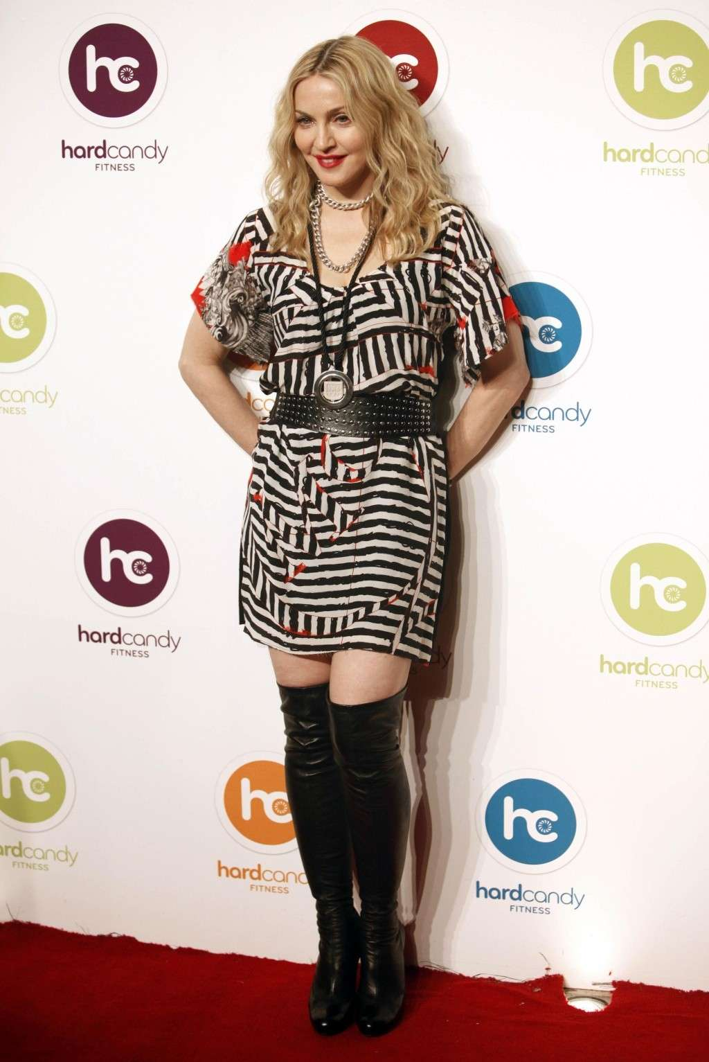 Nov 29, 2010 - Madonna - At the opening of the first Hard Candy Fitness Center in Mexico Forum_65