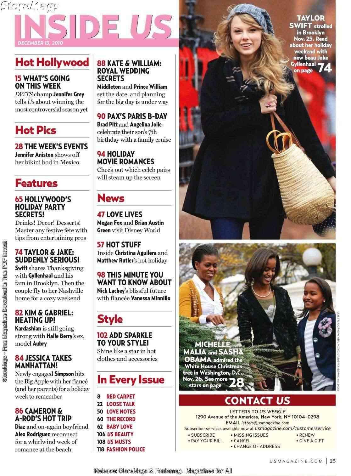 Taylor Swift - US Weekly - December 2010 Forum_78
