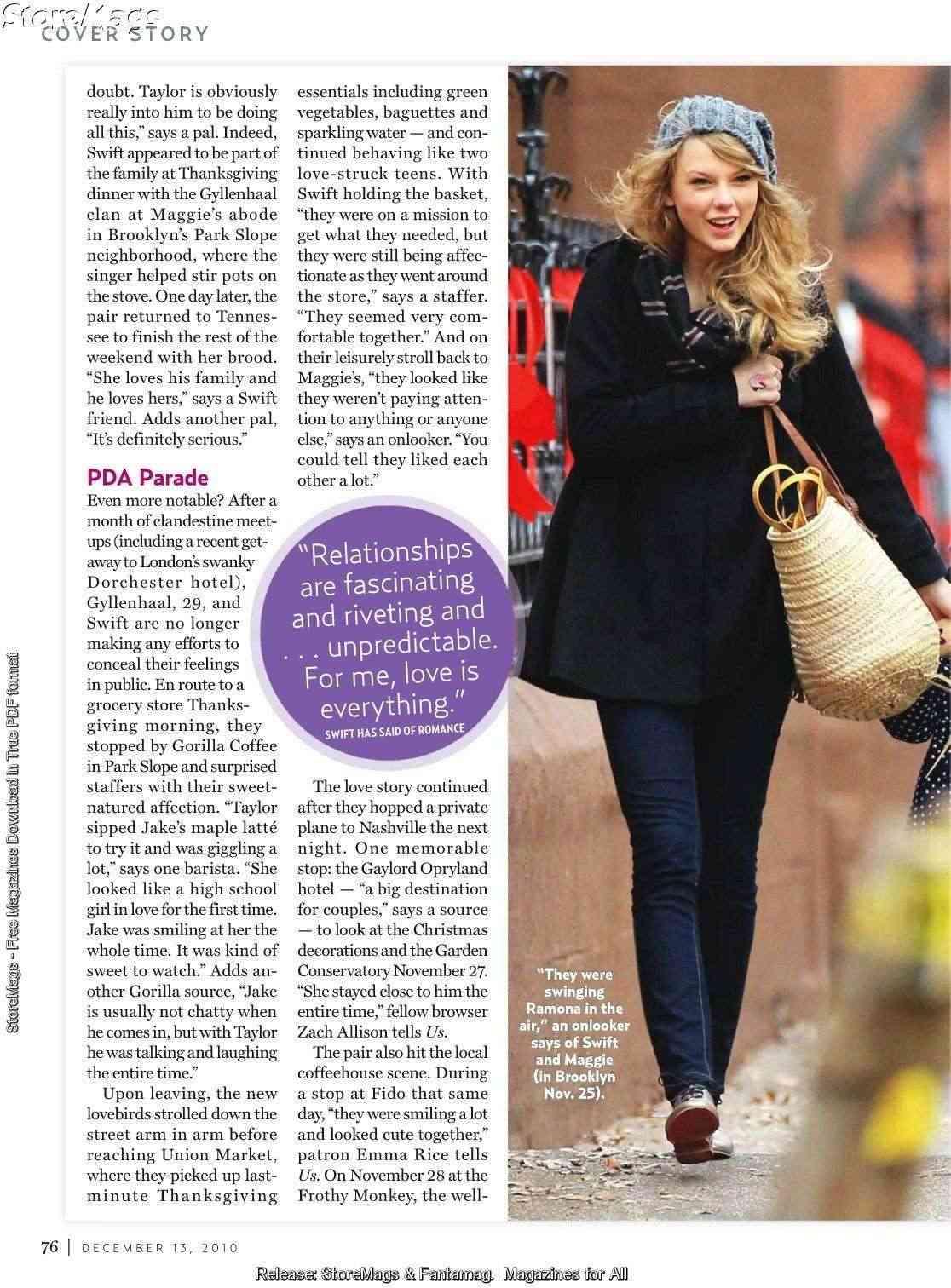 Taylor Swift - US Weekly - December 2010 Forum_82