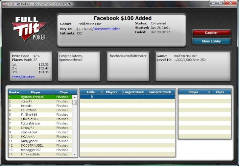 Took down the facebook $100 added Fb_win10