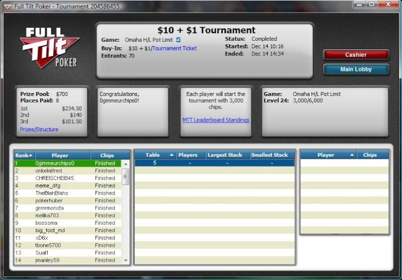 Full Tilt $10 PLO Hi/Lo win  Full_t10