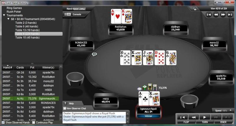 $8 Tourney Win on Full Tilt Royal_10