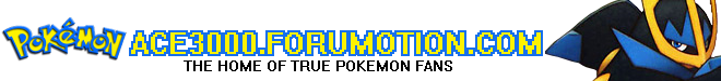 Pokemon Ace 3000