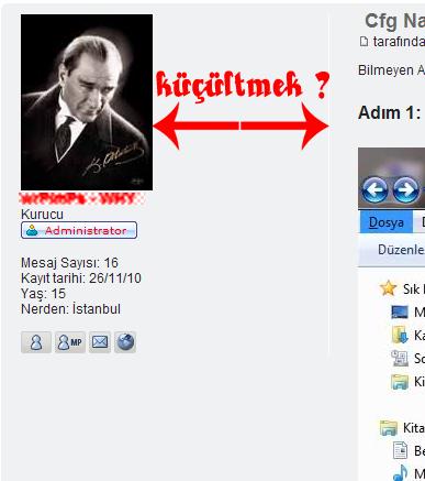 Kullanıcı Profili Küçültmek (Darlaştırma) Untitl18