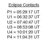 No se olviden del eclipse lunar de hoy... Easyca10
