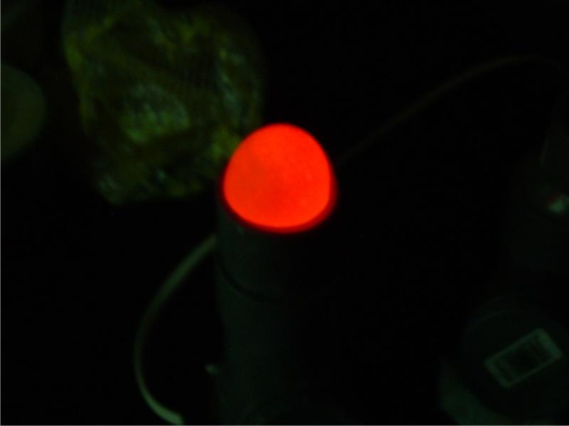 Mi ovoscopio casero Peq710