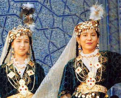Similitude intrigante entre le patrimoine Amazigh Maroc et Uzbek Uzbek-10
