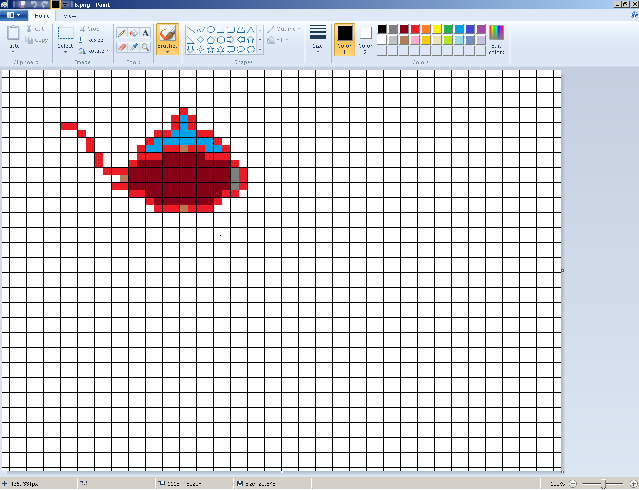 Making graph paper in Ms Paint; Useful to build (Addon to Redd's Building Guide) 612