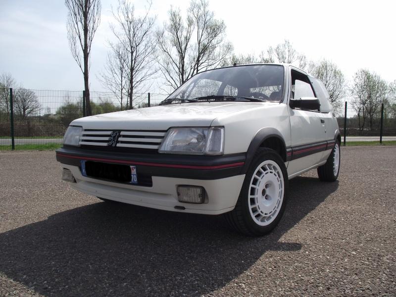 [steph70] 205 GTI 1.9L Blanc Meije 1991 Dscf0710