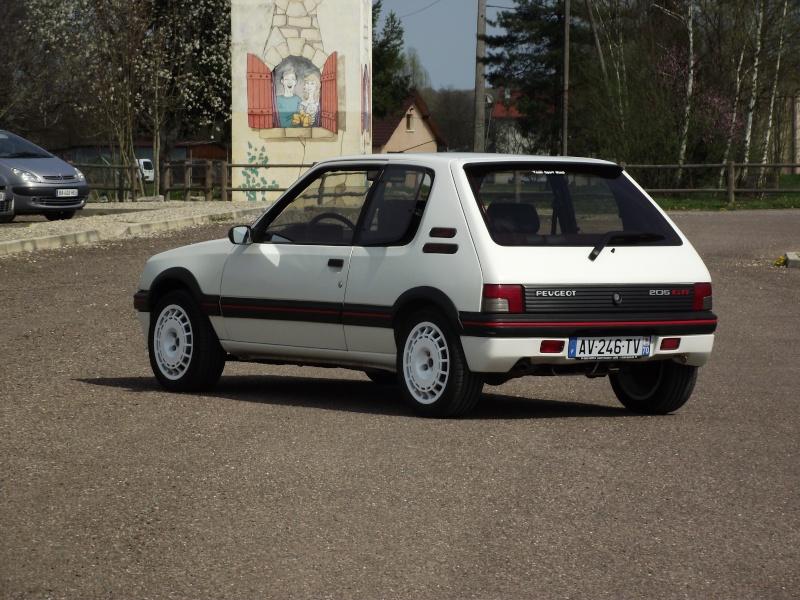 [steph70] 205 GTI 1.9L Blanc Meije 1991 Dscf0715