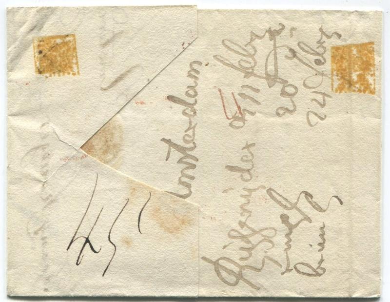 Briefe aus der Vormarkenzeit aus - nach und über Salzburg Amster11