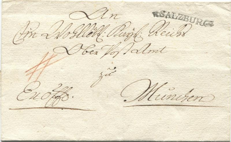 Briefe aus der Vormarkenzeit aus - nach und über Salzburg Salzb_10