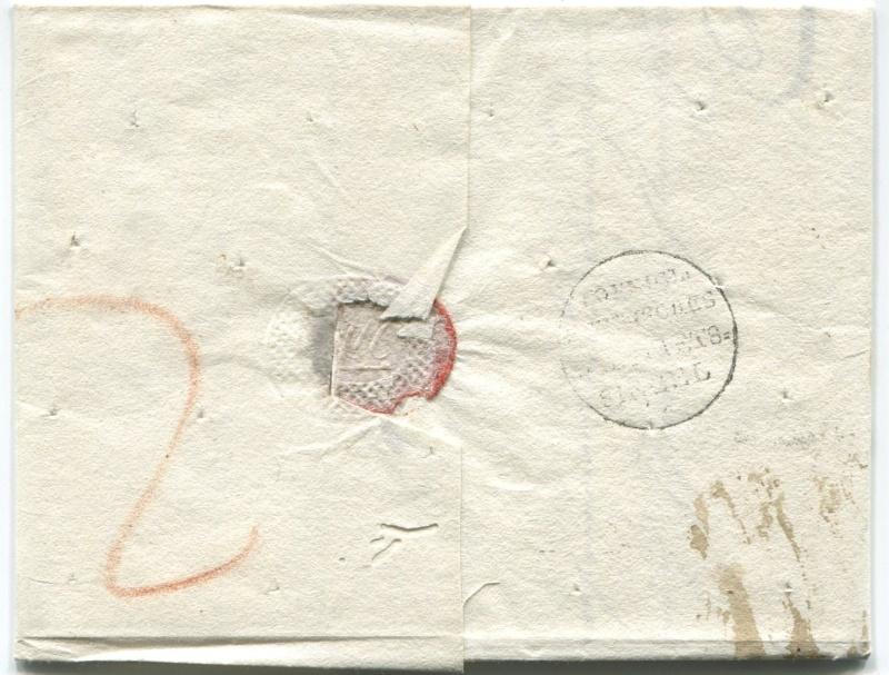 Briefe aus der Vormarkenzeit aus - nach und über Salzburg Salzbu15