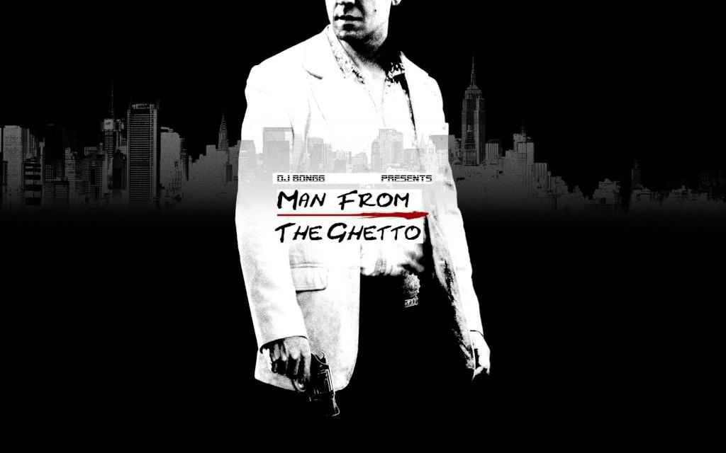 DJ BONGG - MAN FROM THE GHETTO MIXTAPE Front_12