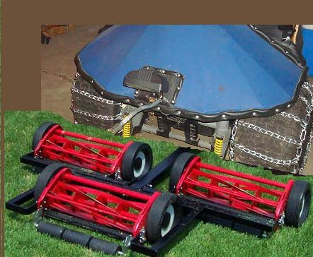 Could it be called Cordless lawn Tractor? George12
