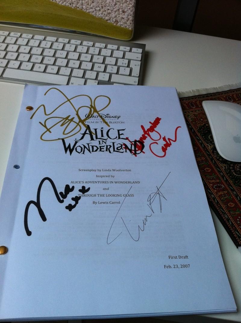 Alice au Pays des Merveilles - Press Book Img_0510