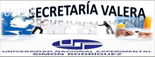 Secretaria UNESR Valera