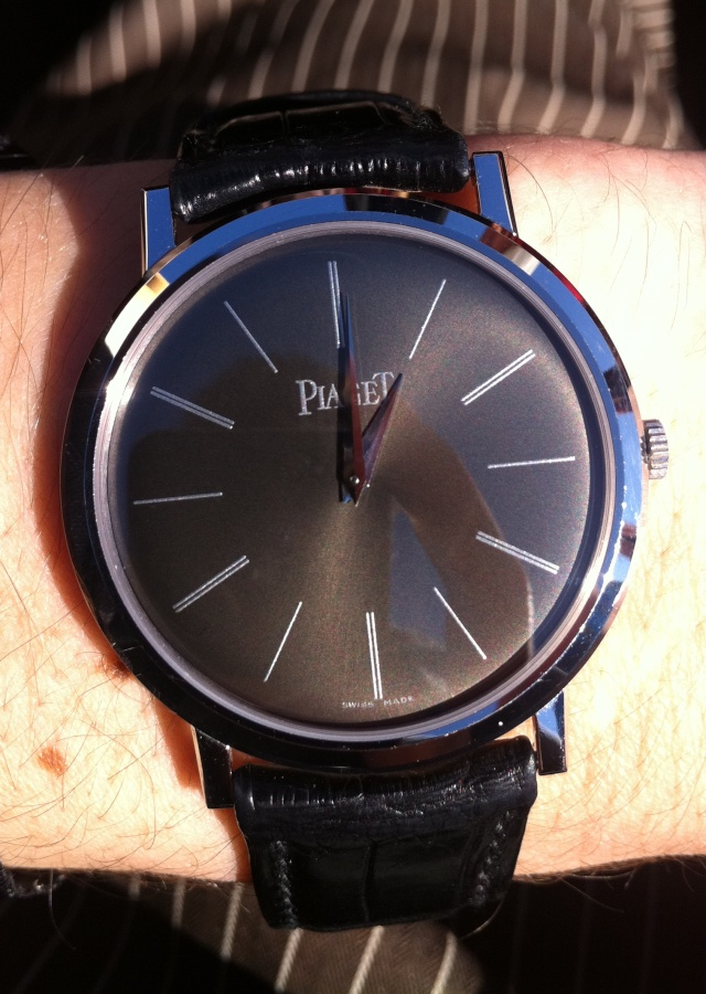Achat 1ere montre : AP vs Zenith vs Piaget Photo12