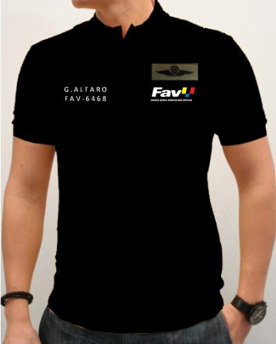 Modelo de Camisa de la FAVV Camisa11