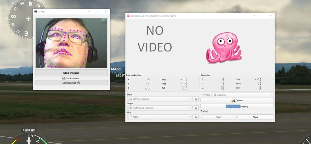 Flight Simulator 2020 : Transforme ta Webcam en dispositif TrackIR 001110