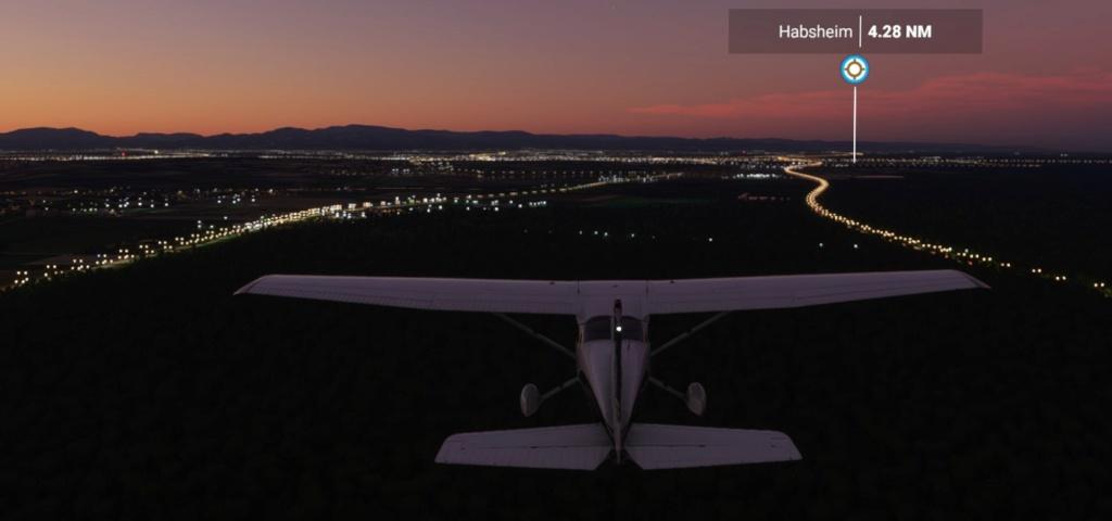 vol  entre lfsb lfst fs20 avec SIM ACARS 0110