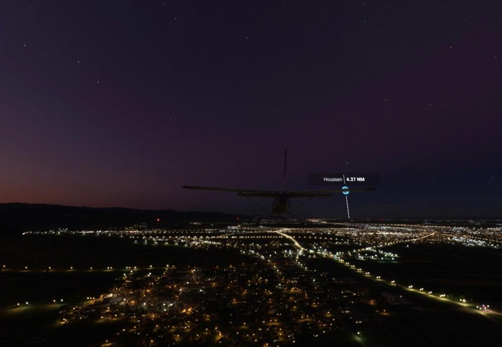 vol  entre lfsb lfst fs20 avec SIM ACARS 0310