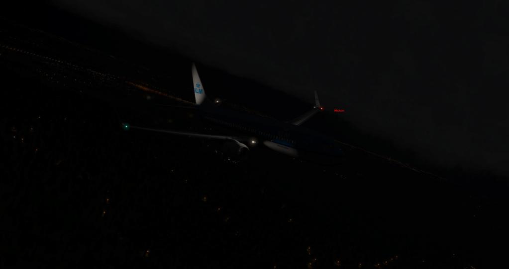traffic  en vol programmé B738_210