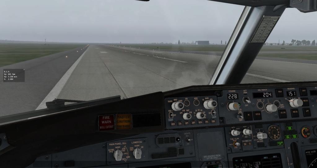 Landing Speed Plugin B738_212