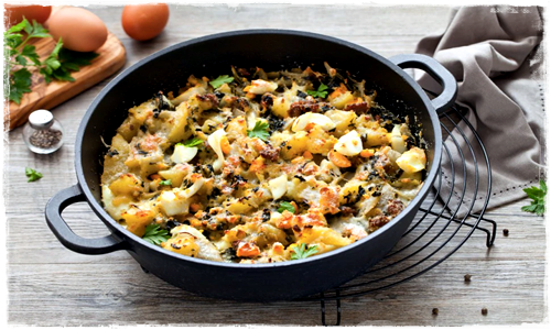 Pasticcio di bietole e patate Cattur96