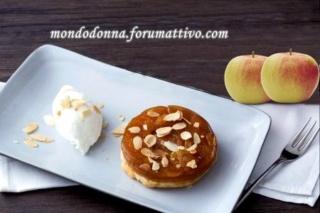 Tatin di mele e mandorle Hd450x18