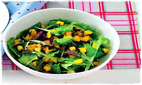 Insalata con mango marinato al basilico Insala65