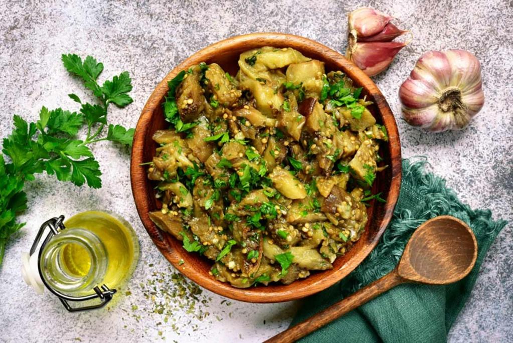 Melanzane al trito di aglio e prezzemolo Melanz16