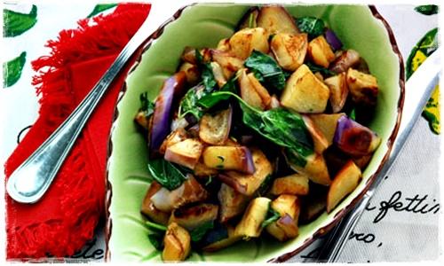 Melanzane aglio e basilico Melanz19