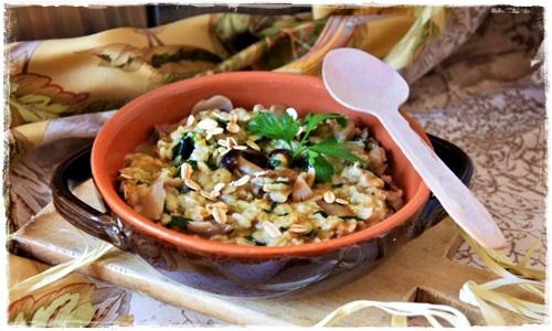 Zuppa con fiocchi d'avena, spinaci e funghi Zuppa_14