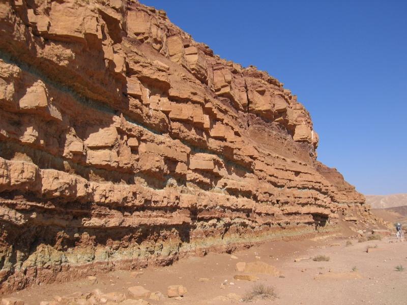 """""""Feuilleté géologique"""" du Makhtesh Ramon - Israël Img_2310"""