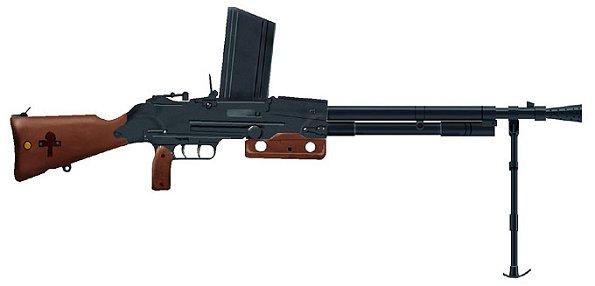 Le fusil mitrailleur 24/29 - FM 24/29 Fm1010