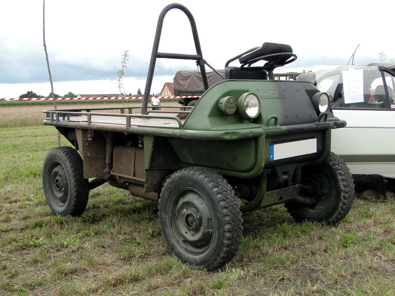 """Vous souvenez-vous du fardier AS24 baptisé """"la mule mécanique"""" par les paras Fm1011"""