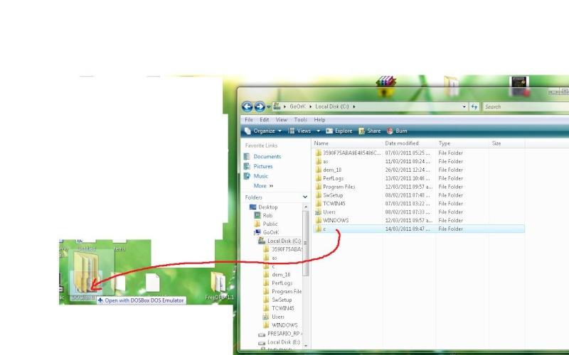 Como abrir Turbo C en windows vista y 7 con dosbox (Correjido) Untitl11