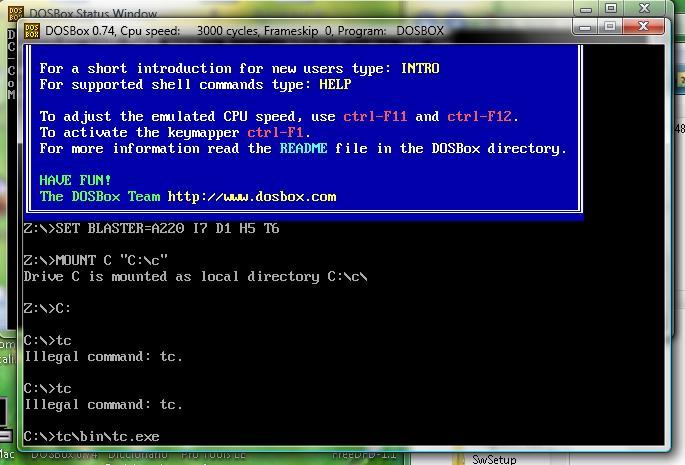 Como abrir Turbo C en windows vista y 7 con dosbox (Correjido) Untitl12