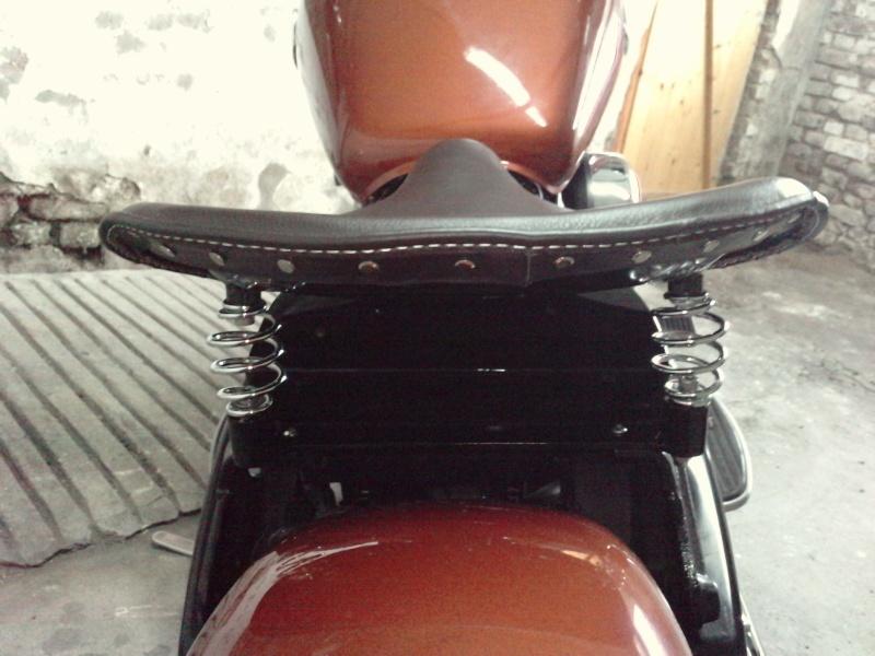 DRIFTER - fabrication tôle selle à ressort P0704111